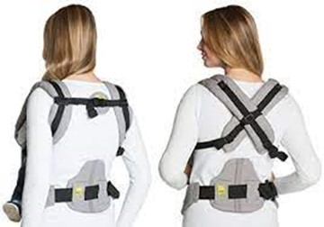 Wear the carrier according to your preference - Lille Baby Carrier Review - Baby Journey blog