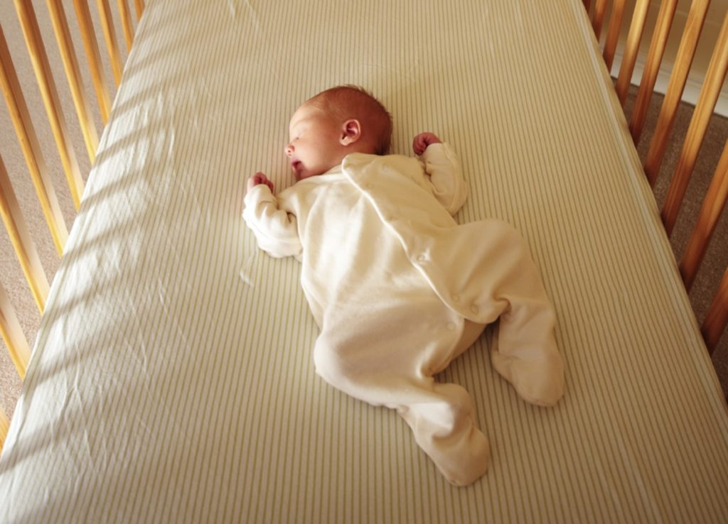Your baby should sleep on their back until they reach age 1 at least - Why Do Babies Sleep With Their Butt In The Air? | Baby Journey Blog