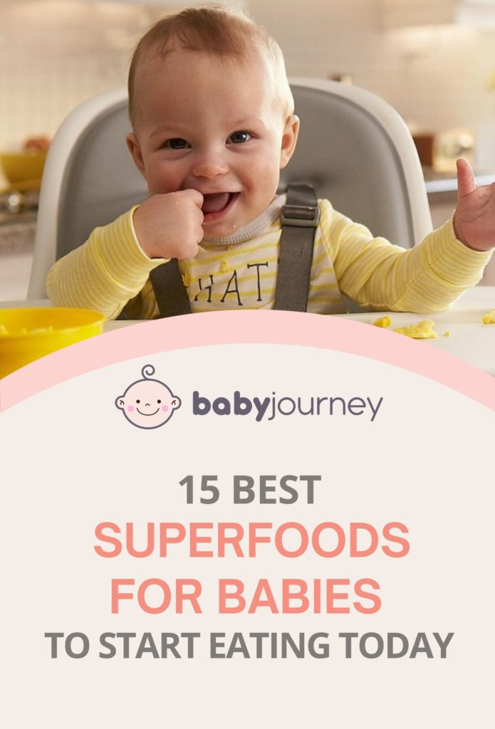 Superfoods for Babies | Baby Journey